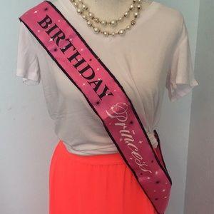 Accessories - 💝 Birthday Princess sash